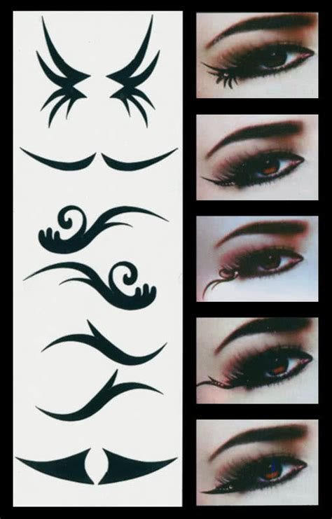 watercolor tattoo zum aufkleben eyeliner designs www pixshark images