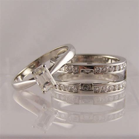 slot to fit engagement wedding rings ring jewellery
