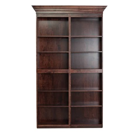 48 quot maple bifolding bookcase door the murphy door