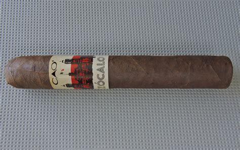 zocalo reviews cigar review cao z 243 calo