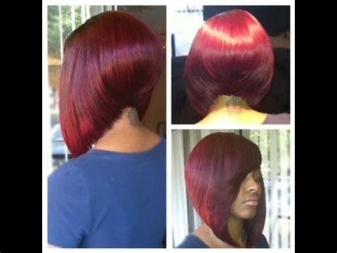 black asymmetrical bob sew ins asymmetrical color bob sew ins short hairstyle 2013