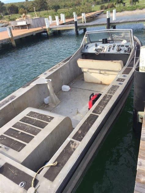 used aluminum boats for sale florida sea ark aluminum work boat 1989 used boat for sale in palm