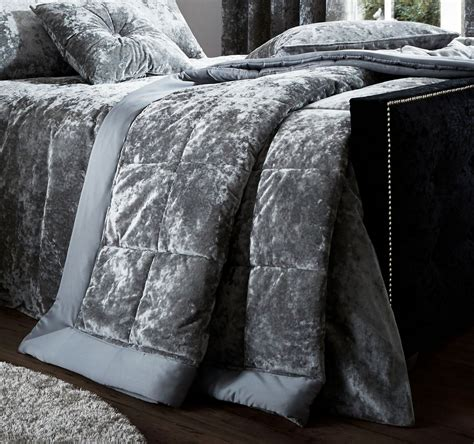 crushed velvet comforter catherine lansfield crushed velvet duvet cover bedding bed