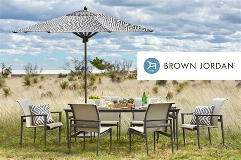 introducing brown outdoor furniture