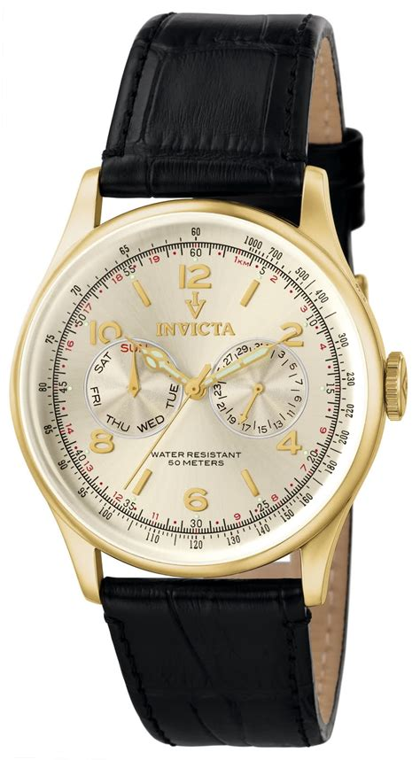 watchtime123 invicta mens 6750 vintage swiss quartz