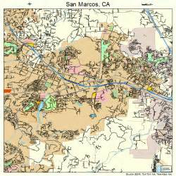 san marcos california map 0668196