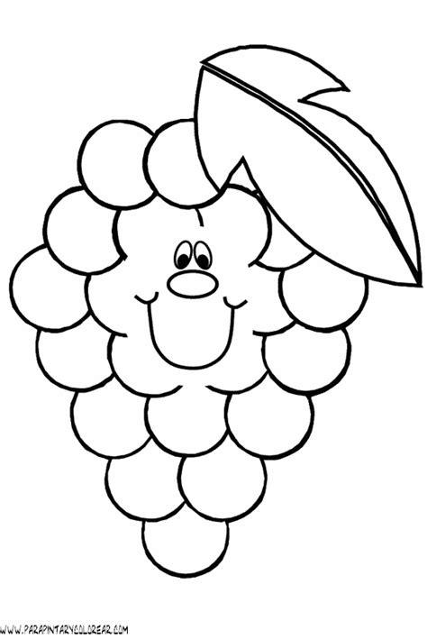 imagenes animadas sobre uvas dibujos para pintar online frutas ideas creativas sobre