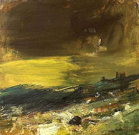 Landscape Artists Edinburgh Joan Eardley The Yellow Sea Went To Exhibition Of