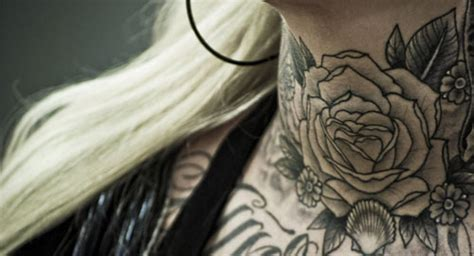 rose front neck tattoodenenasvalencia