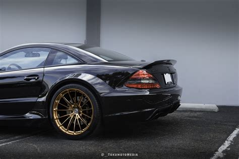 Mercedes Amg Sl65 by Mercedes Sl65 Amg Black Series Astonishes With Copper