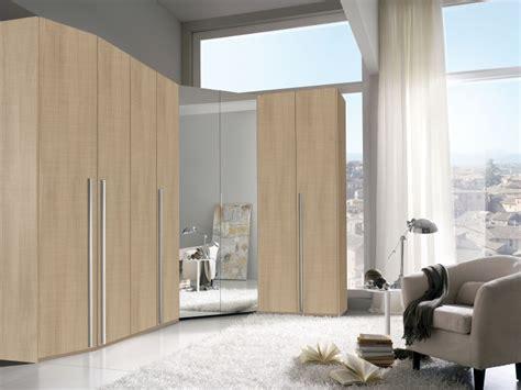 armadio angolare da letto cabina armadio angolare 8 ante battenti con specchiera