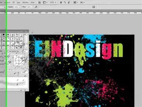 tutorial adobe photoshop cs4 indonesia splatter text tutorial adobe photoshop cs4 doovi