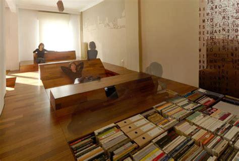wood waves bold built ins secret  floor storage