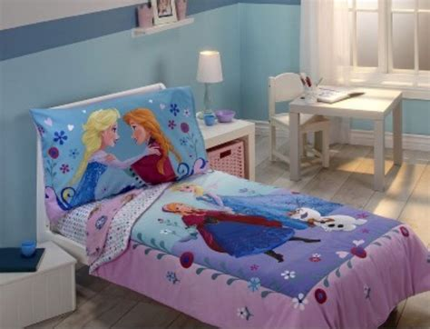 Frozen Crib Bedding Disney Frozen Elsa Toddler Bed Set Quilt Sheets Crib Room Comforter Ebay