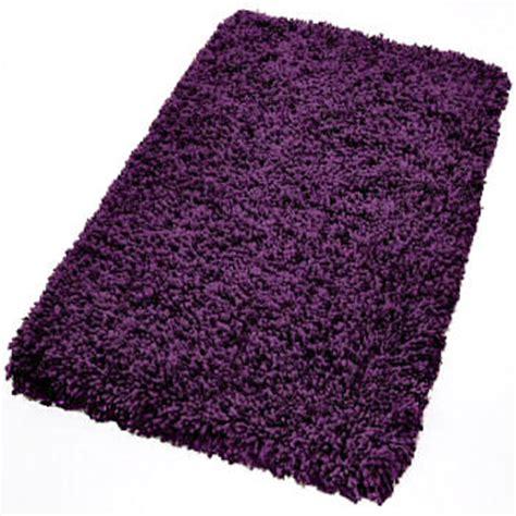 eggplant bath rugs shag bathroom rug in amazingly colors