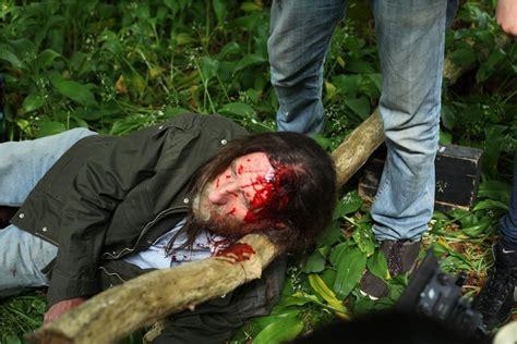 john ward  body dog walker  pick axe wound