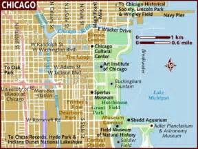 Map If Chicago by Map Of Chicago