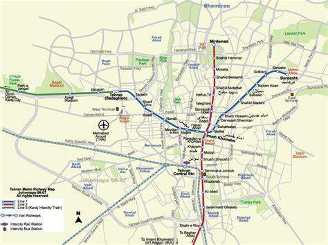 tehran map maps map tehran