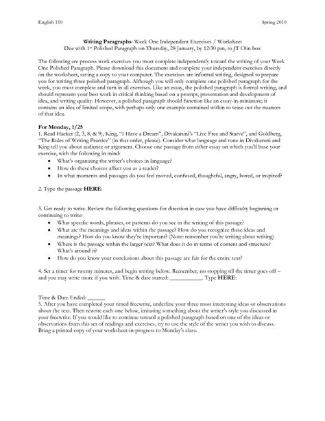 How To Practice Writing Essays by 7 Steps To Writing Essay Practice