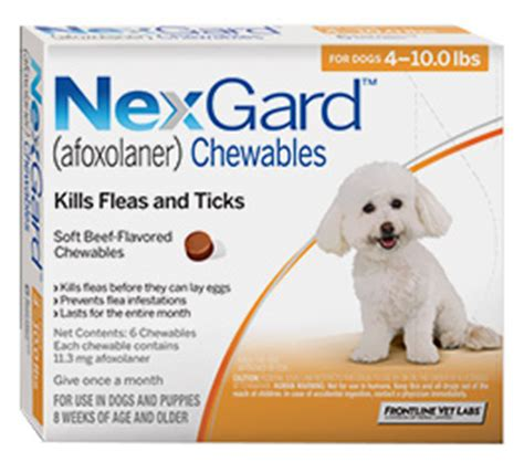 flea and tick chewables for dogs nexgard chewable flea tick