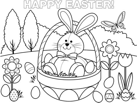 free easter coloring pages to print easter bunny free printable coloring pages coloring pages