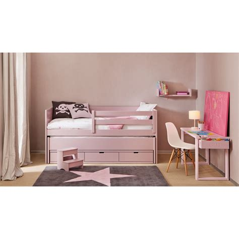 cabin bed with trundle and drawers cometa kids bed with pull out trundle bed and drawers