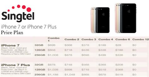 singtel releases the iphone 7 and iphone 7 plus price plan moneydigest sg