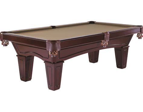 brunswick 174 allenton 7 espresso pool billiard table