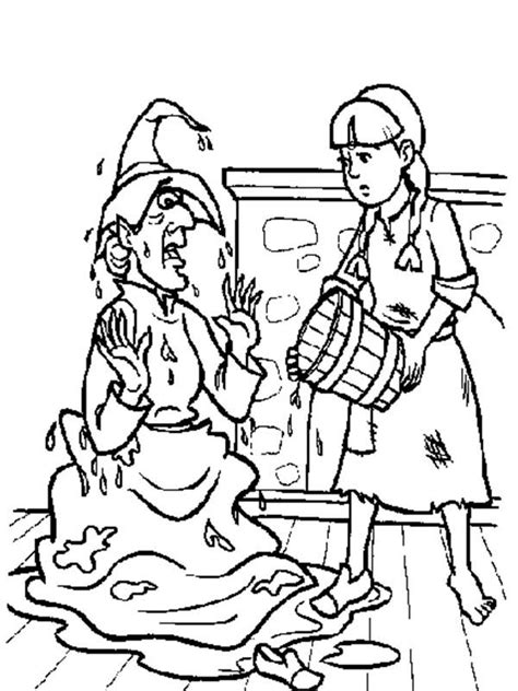 wicked witch of the west coloring pages coloring pages