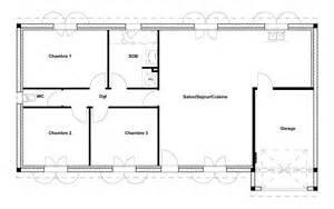 charming plan 90m2 3 chambres 14 plan 90m2