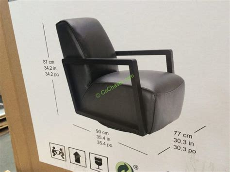 costco swivel chair kuka leather swivel chair costcochaser