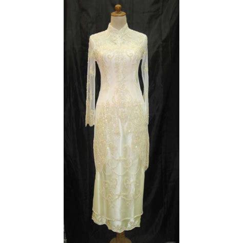 Pi Batik Black Muslim Kebaya Pesta designer baju muslim personal