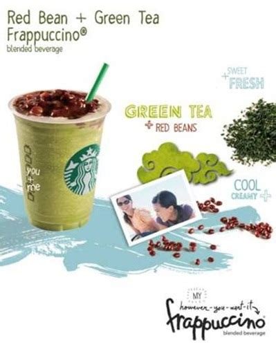 Green Tea Blended Coffee Bean everyday food bites starbucks asian frappuccino 174 blended