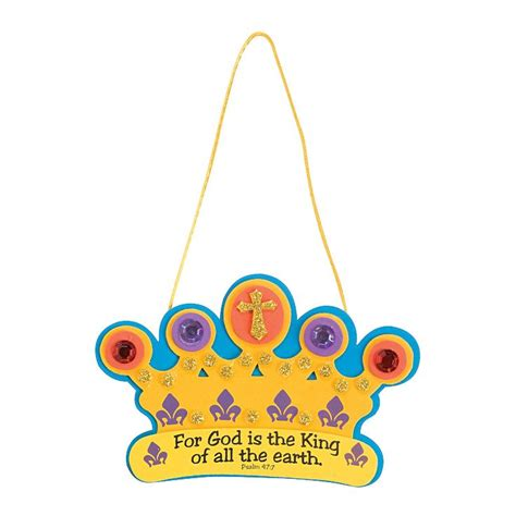 crown craft kit pin by regan on kingdom rock vbs pinterest