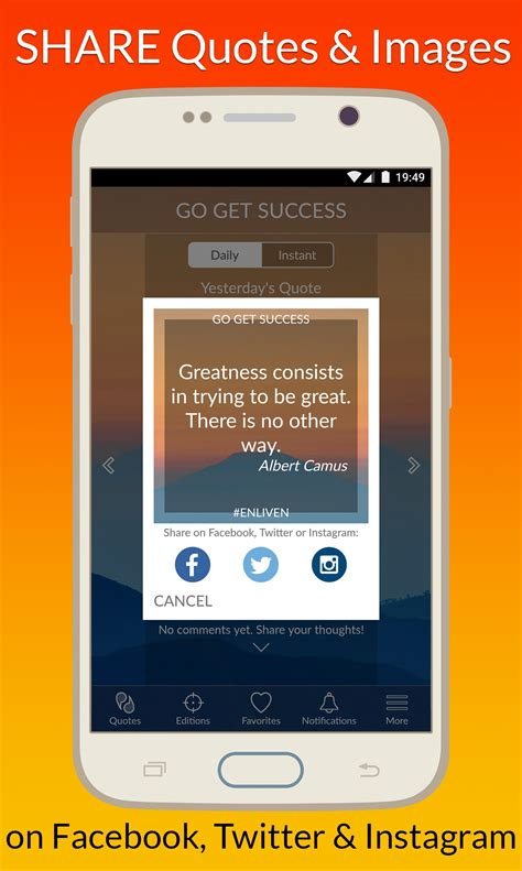 Daily Motivational Quotes App