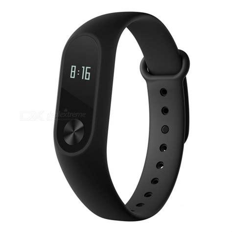 Pulseira de relógio para pulseira inteligente Xiaomi Mi Band 2 para versão global   Preto