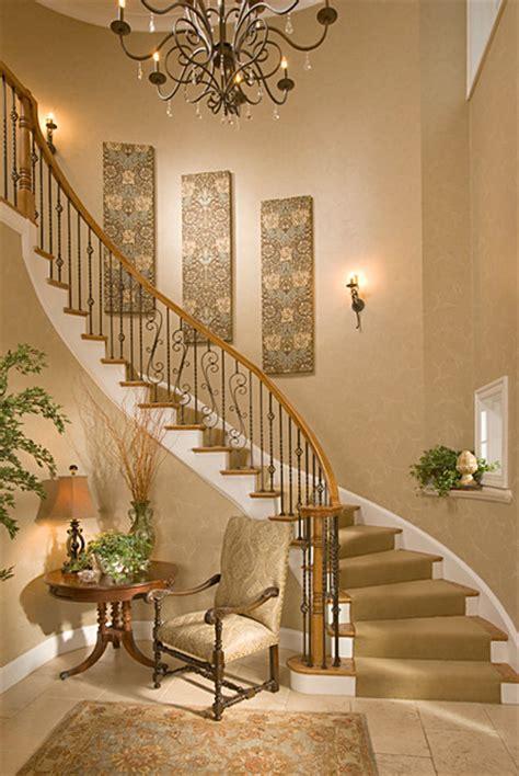 bethesda foyer traditional staircase dc metro