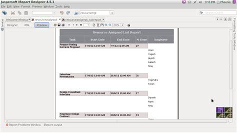 tutorial java ireport how to show multiple names in one column ireport 4 5 in
