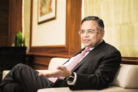 N Chandrasekaran Resume by N Chandrasekaran Took Home Rs30 Crore As Tcs Ceo In Fy17