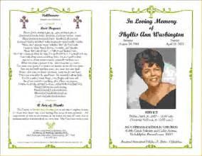 Samples Of Funeral Programs It Resume Cover Letter Sample