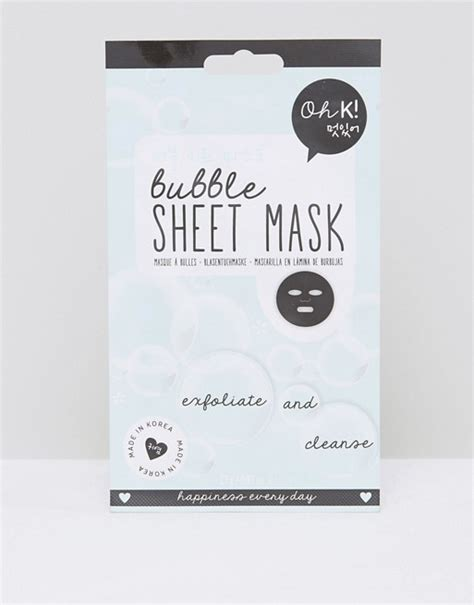 Detox Sheet Mask by Oh K Oh K Exfoliate Cleanse Sheet Mask