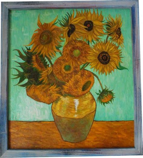 il vaso di girasoli falsi d autore quadro quot dodici girasoli in un vaso quot di