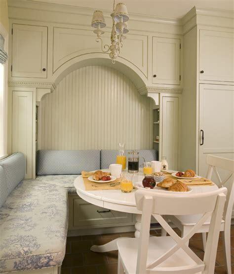 breakfast nook  built  seating  storage