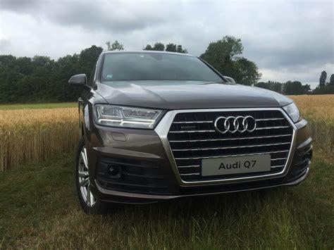 Audi Q7 Prise prise en audi q7 2015 v6 tdi 272 ch