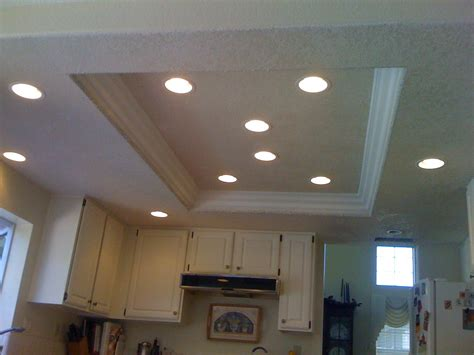 replacing fluorescent light in kitchen replace recessed fluorescent light fixture with led