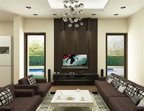Modern Living Room Ceiling Special Inspiration Brown Living Room Modern Ceiling Ls Decosee