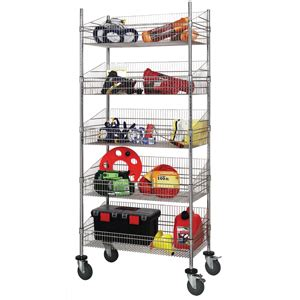 wire basket shelving system product new post basket shelving system material