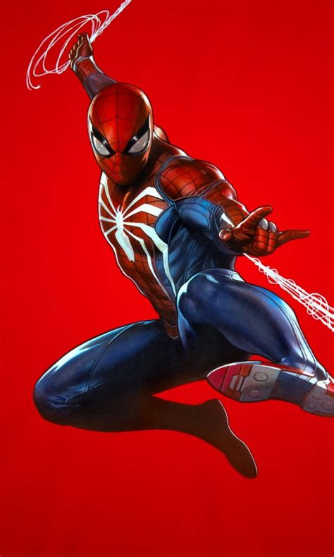 spider man ps cover art   wallpapers hd wallpapers