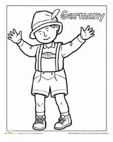 german traditional clothing worksheet education com