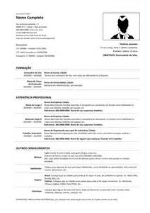 Modelo Completo Curriculum Vitae Modelo De Curriculum Vitae Atualizado 2013